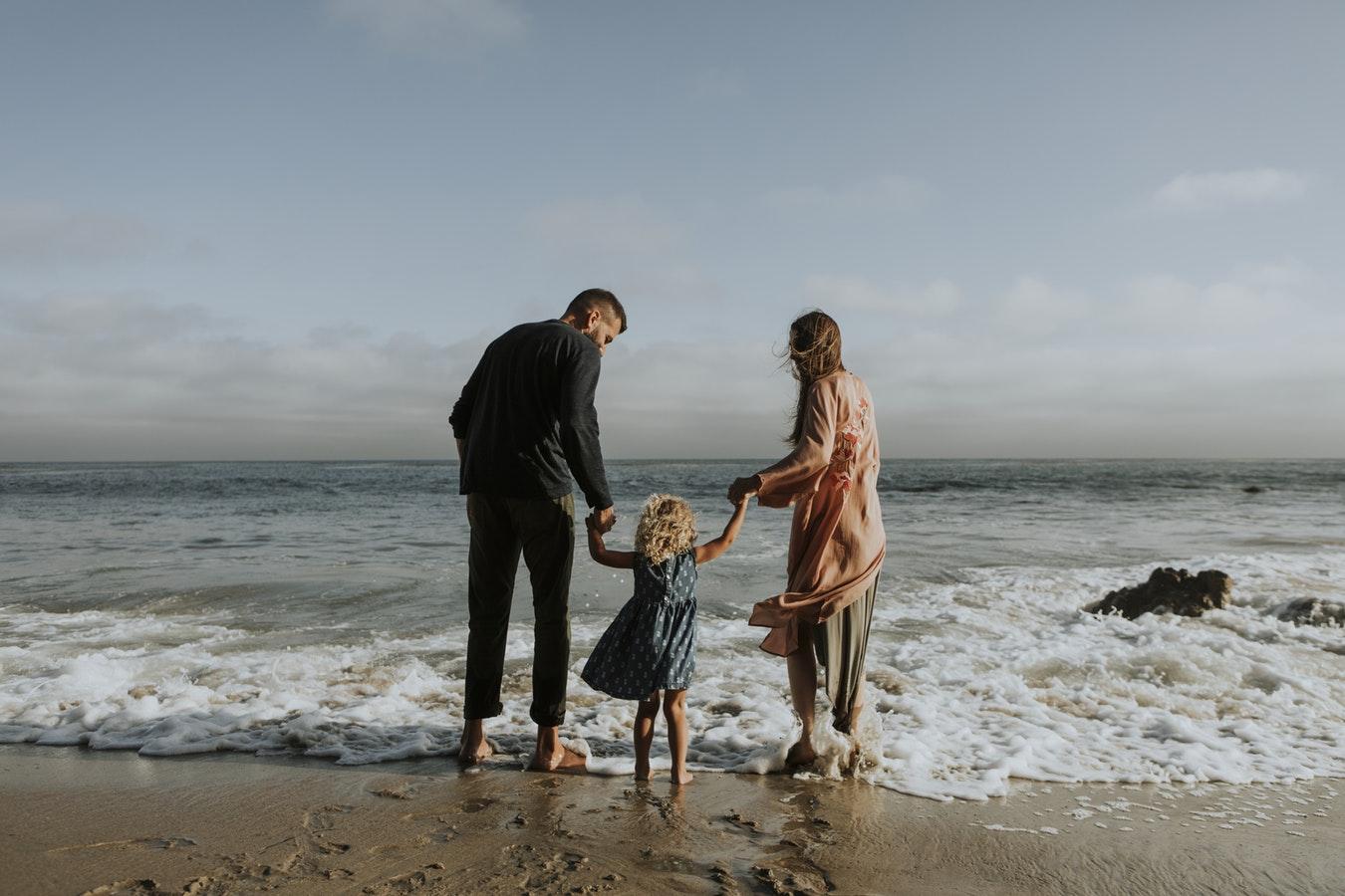 Familie am Meer Rechtsschutz für alles was kommt